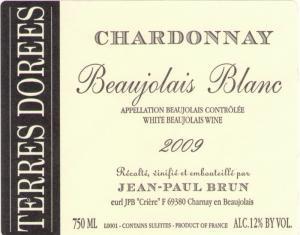 LOUIS/DRESSNER | Domaine des Terres Dorées Chardonnay Beaujolais Blanc