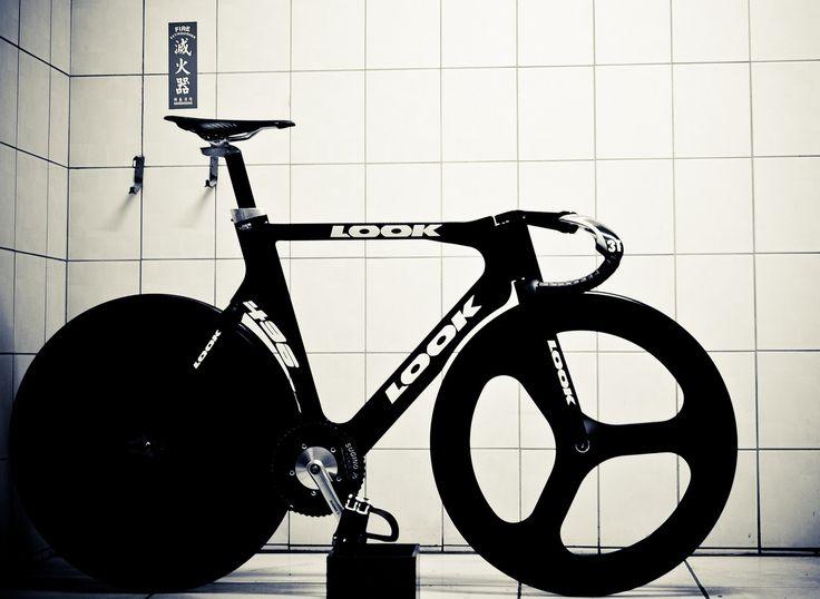 Look track bike