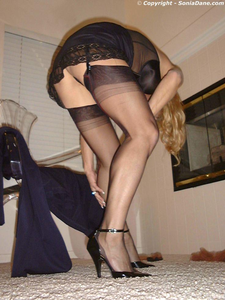 swingers wife sexy stockings