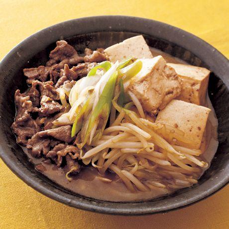 レタスクラブの簡単料理レシピ コクのある煮汁がもやしにしみこむ!「もやし肉豆腐」のレシピです。