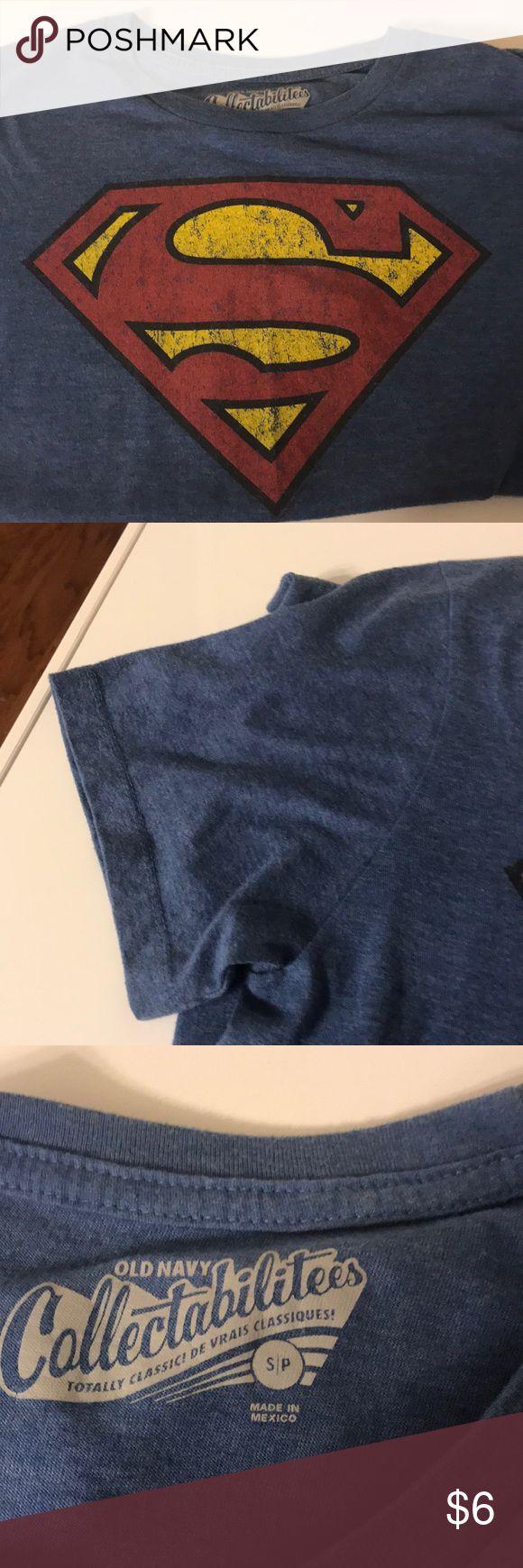 Old navy shirt sleeve tee boys Superman shirt sleeve tee size small Old Navy Shirts & Tops Tees - Short Sleeve