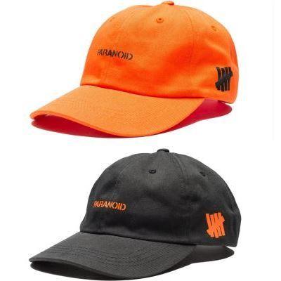 anti social 'paranoid'  cap orange or black