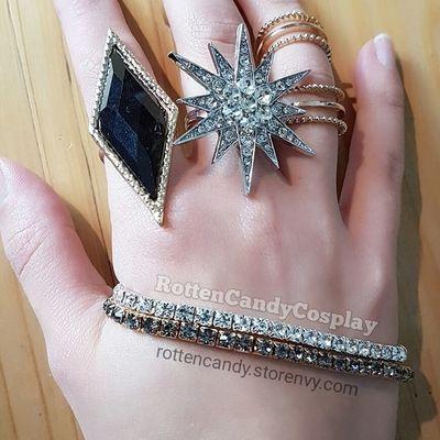 Jewelry set: nightclub harley right hand