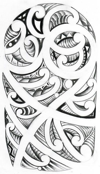 New Zealand Maori Tattoos | Maori Tattoo Designs