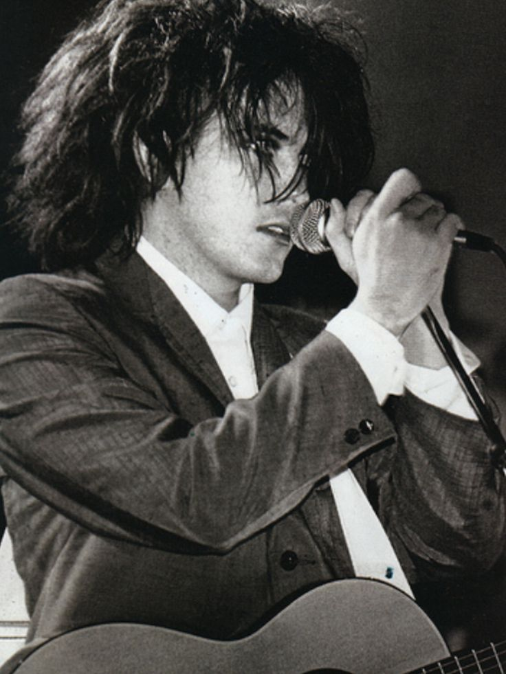 "A very young Robert Smith from the Cure.  Robert James Smith (born 21 April 1959) is an English musician. He is the lead singer, guitarist, lyricist and principal songwriter of the rock band The Cure, and its only constant member since its formation in 1976. NY Rock describes him as ""pop culture's unkempt poster child of doom and gloom."" ""A lot of journalists give me a hard time about how I look, but I've never met a journalist I'd rather look like."""