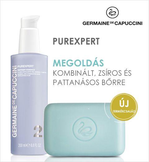 Purexpert megoldás kombinált, zsíros és pattanásos bőrre