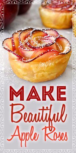 Make Beautiful Apple Roses