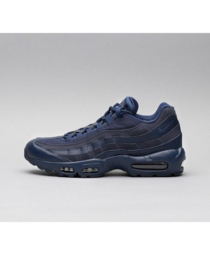 huge discount 58dab cd745 Nike Air Max 95 Essential Chaussures Bleu