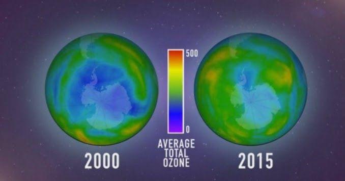 Por primera vez... ¡La capa de ozono se está recuperando! #peritic by @leon_colchonero