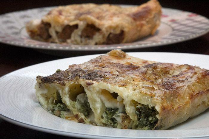 Οι δυο πιο δημοφιλείς Ιταλικές συνταγές για κανελόνι με κιμά Μπολονέζ και σπανάκι-ρικότα