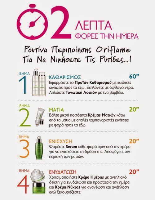 Oriflame Boula Kripi: Νικήστε τις ρυτίδες! 2', 2 φορές, €2 την ημέρα!   ...