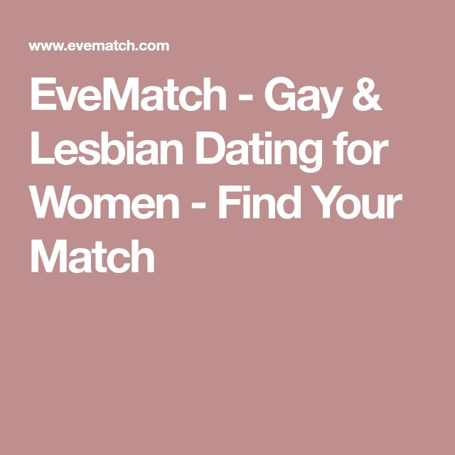 EveMatch - Gay & Lesbian Dating for Women - Find Your Match