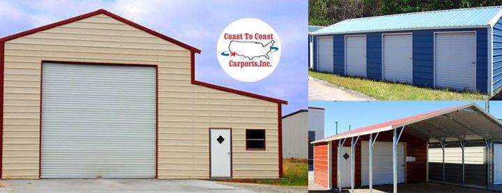 Coast to Coast Carports Custom Steel Building Designs - USA