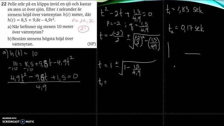 Matematik 5000 Ma 2b   Kapitel 2   Blandade övningar 2 -  22