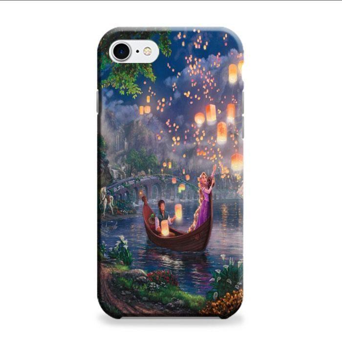 Tangled Cartoon Lantern iPhone 7 3D Case