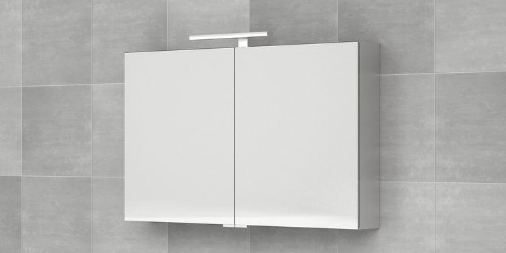 Bruynzeel spiegelkast 120 cm / badkamer idee/ sanitair / armoire de toilettes deux portes