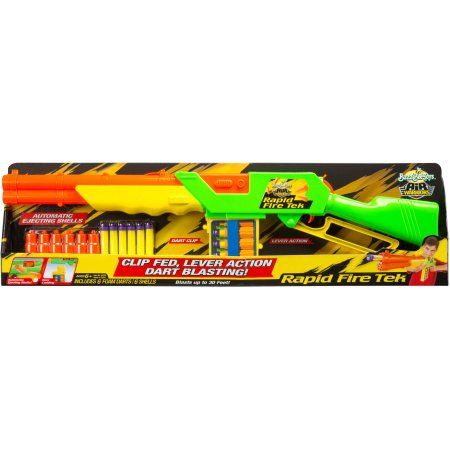 Buzz Bee Toys Air Warriors Rapid Fire Tek Blaster - Walmart.com