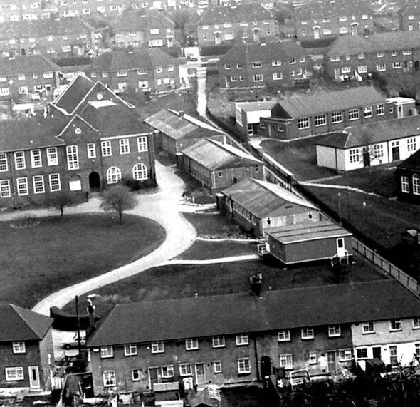 Whitehawk secondary school 1950