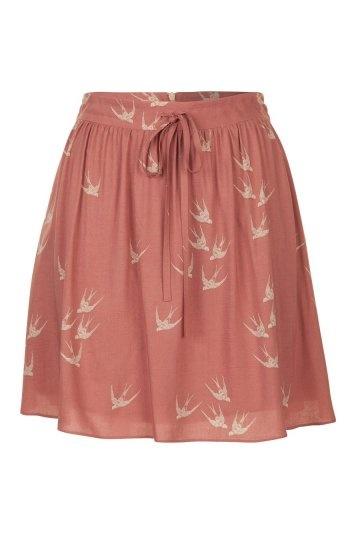 Naf Naf bird skirt: Birds So, Cute Birds, Pink Skirts, Beautiful Skirts, Bird Prints, Naf Bird