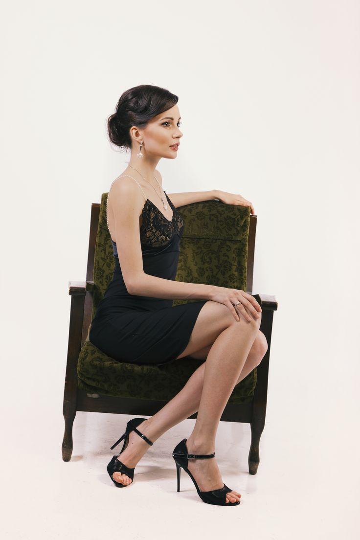 Black #blackdress #beauty #style #audrey #collection #illango