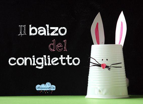 Quandofuoripiove: Giochi-fai-da-te: il balzo del coniglietto!