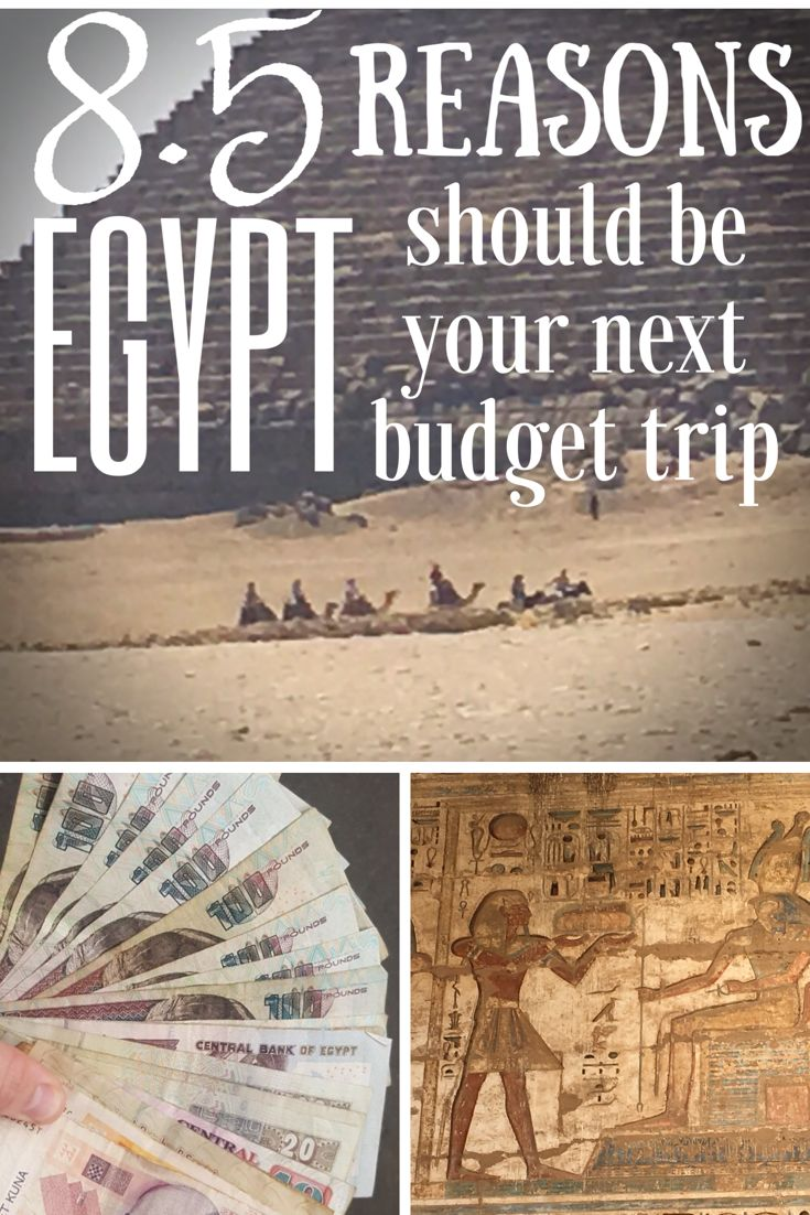 Egypt is re-emerging as a great cheap travel destination. Here are 8.5 reasons why Egypt should be your next budget destination #egypt #cheaptravel #budgettravel #egypttravel