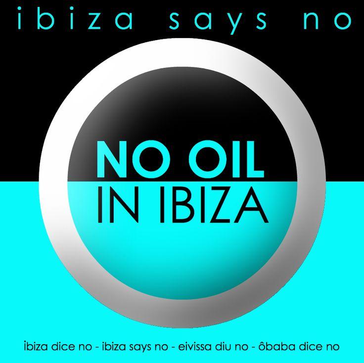 ÔBABA Paris proudly fights against oil drilling in Ibiza. #ibizasaysno #eivissadiuno #ibizadiceno #obabaparis
