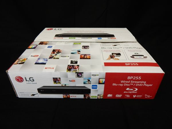 LG Wired Streaming Blu-Ray/DVD Player