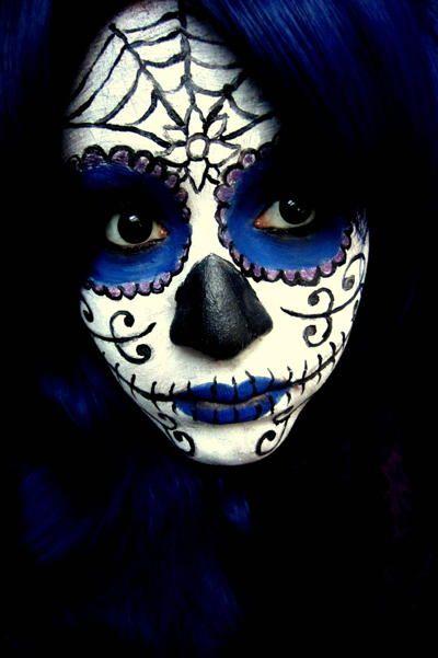 Sugar Skull v2 Makeup by ~jessibaxx
