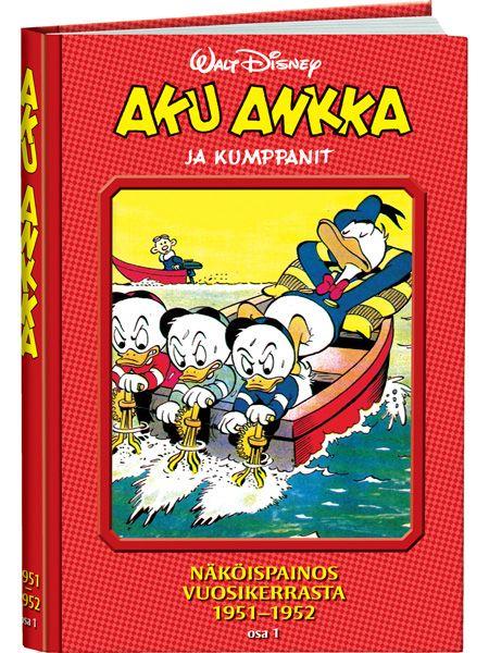 Aku Ankka ja kumppanit näköispainos 1951-1952, osa 1