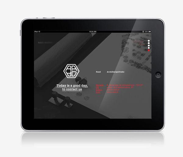 Raad Website/Tablet