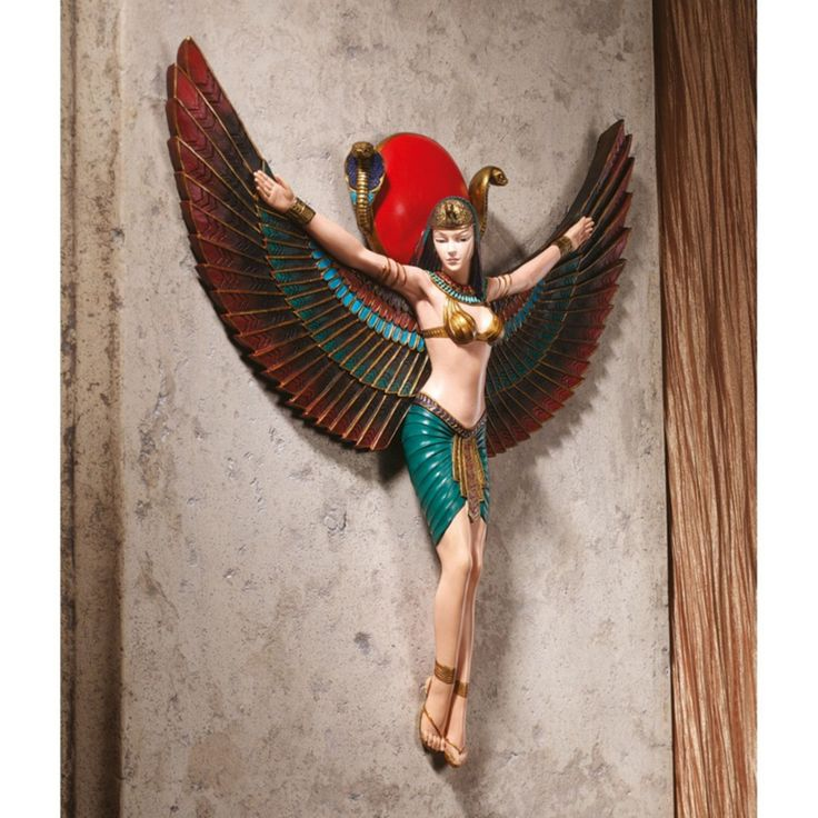Design Toscano Goddess Isis Wall Sculpture - CL5159