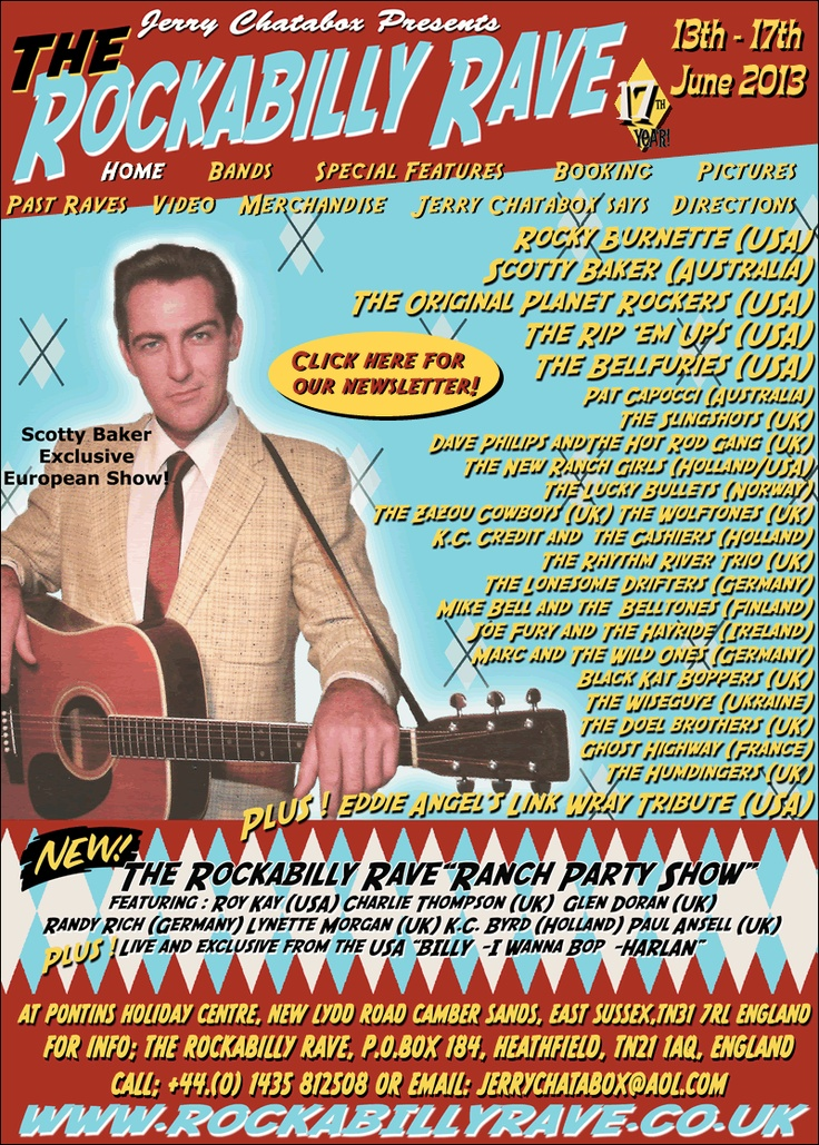The Rockabilly Rave hell yes. i'm going!!