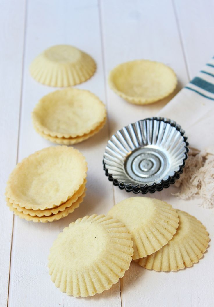 Sandbakkle ~ shortbread tarts/cookies (I would try filling them with either egg custard or choc pudding)