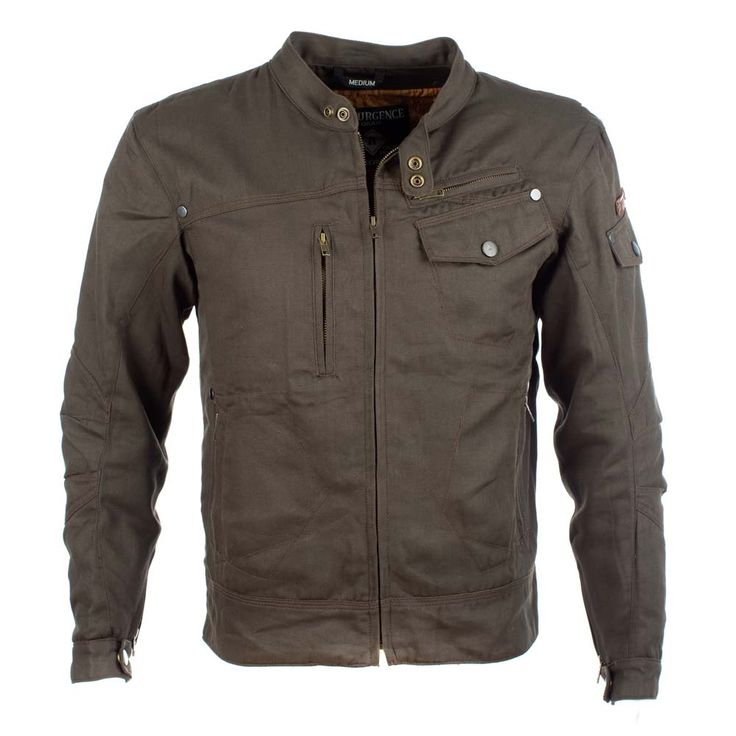The Rocker Jacket from Resurgence is a short mojave style cotton motorcycle jacket. It has been designed for comfort with pre-curved and rotated sleeves. The outer is treated with teflon for good water resistance, breathability and dirt repellence. Other nice features are brass fixings and a luxurious silk type lining. The Rocker is also lined with Pekev, Resurgence's own developed protective material which is 200% stronger than Kevlar and 15 times stronger than carbon steel. For added…