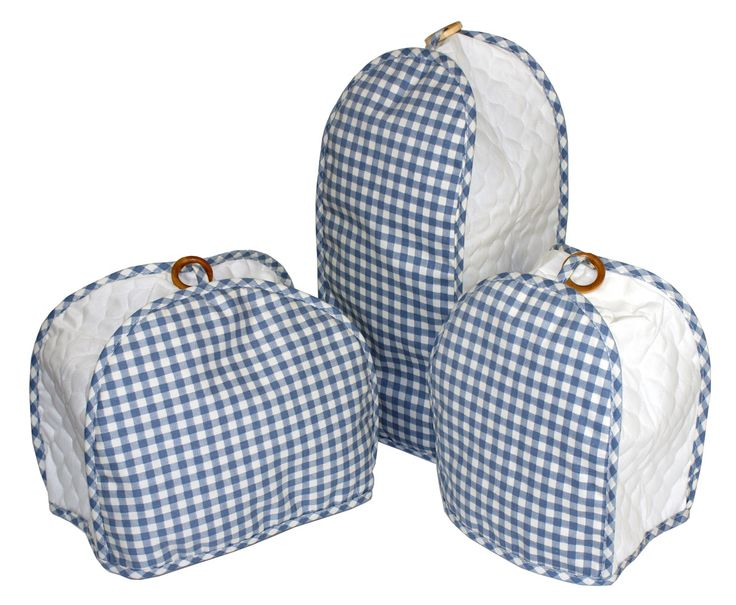 Blue Gingham Quilted Kitchen Appliance Cover From Altmeyer 39 S For Di Kitchen Di