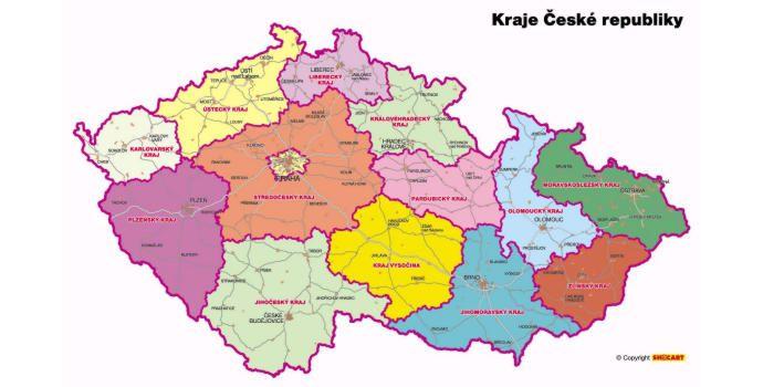 kraje čr a krajská města - Hledat Googlem