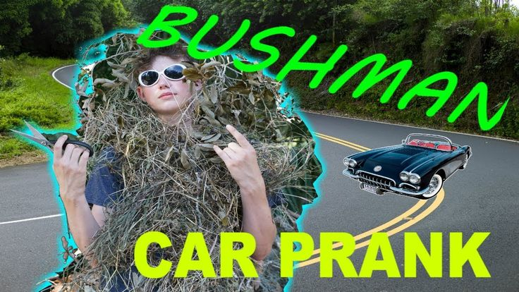 Bushman/Grass Man Car Prank (Vlog) #pranks #funny #prank #comedy #jokes #lol #banter