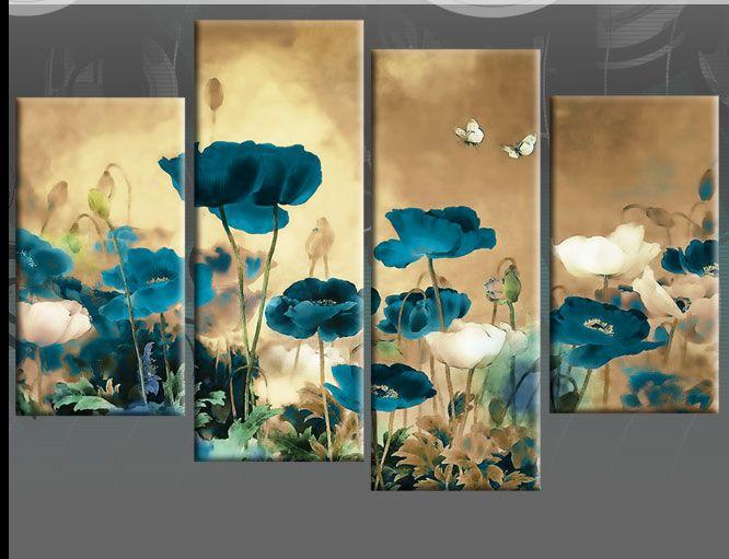 25+ Unique Painted Wall Art Ideas On Pinterest