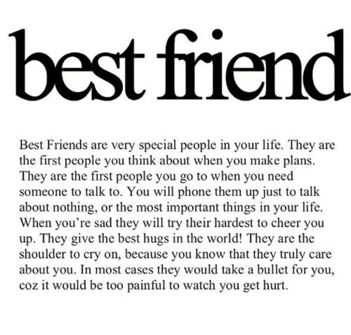 Very Emotional Best Friend Quotes