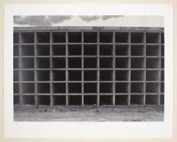 Rachel Whiteread 'Mausoleum Under Construction', 1992 © Rachel Whiteread