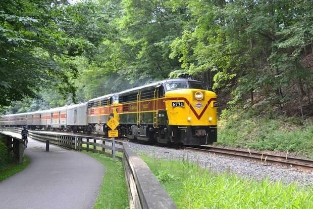Kids can ride free on the Cuyahoga Valley Scenic Railroad in August For every adult National Park Scenic coach ticket purchased for 15 a child s ticket is free The special is offered to children 3 12 years old It runs Tuesdays Fridays through Aug 31 The National Park Scenic Coach Ticket is an