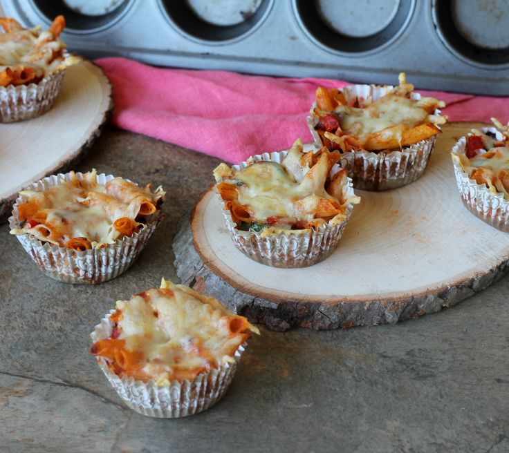 baked pasta cups4