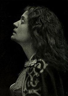 Duse - Actress - (1858-1924) (Eleonora Giulia Amalia Duse)