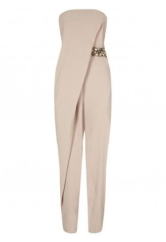 Forever Unique Stephie Jumpsuit in Mink For similar items, please visit http://www.fashioncraycray.xyz/