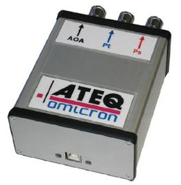The ATEQ ADSE 730 avionics test equipment is a high performance multi pressure Ps, Pt and AoA stand-alone test bench. This ADSE 730 device is engineered to be utilized in the workshop or in the laboratory. It is used to check and calibrate all air data devices such as altimeters, vertical speed indicators, air data computers and sensors.