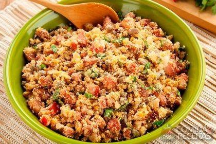 Receita de Feijão tropeiro incrementado em receitas de legumes e verduras, veja essa e outras receitas aqui!