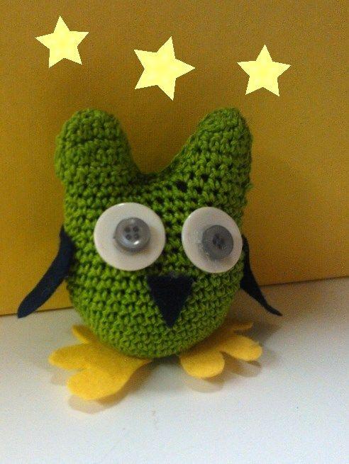 Owl - crochet