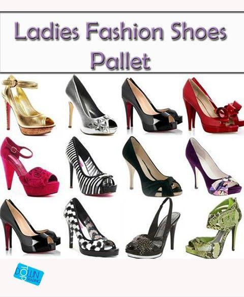 Wholesale Ladies Fashion Ex Catalogue Footwear/Shoe Pallet