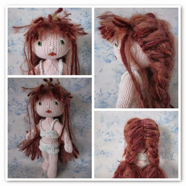 Hair On Amigurumi : 17 Best images about Amigurumi doll hair styles on ...